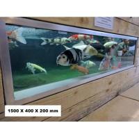 Koi Pond Viewing Window 1500 x 400 x 200mm - PREORDER