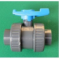 Ball Valve (split coupling) Solvent Weld 1.5""