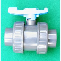 Ball Valve (split coupling) Solvent Weld 2""