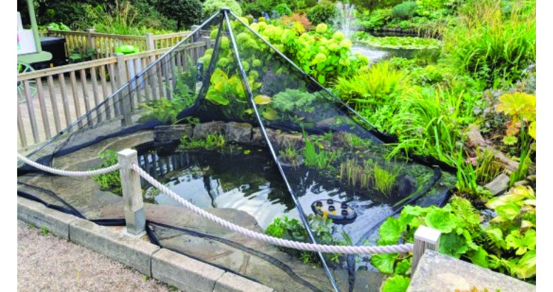 Pond Cover Nets and Pop Up Shelter by PondXpert