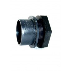 """1.5"""" Solvent Weld Tank Connector"""