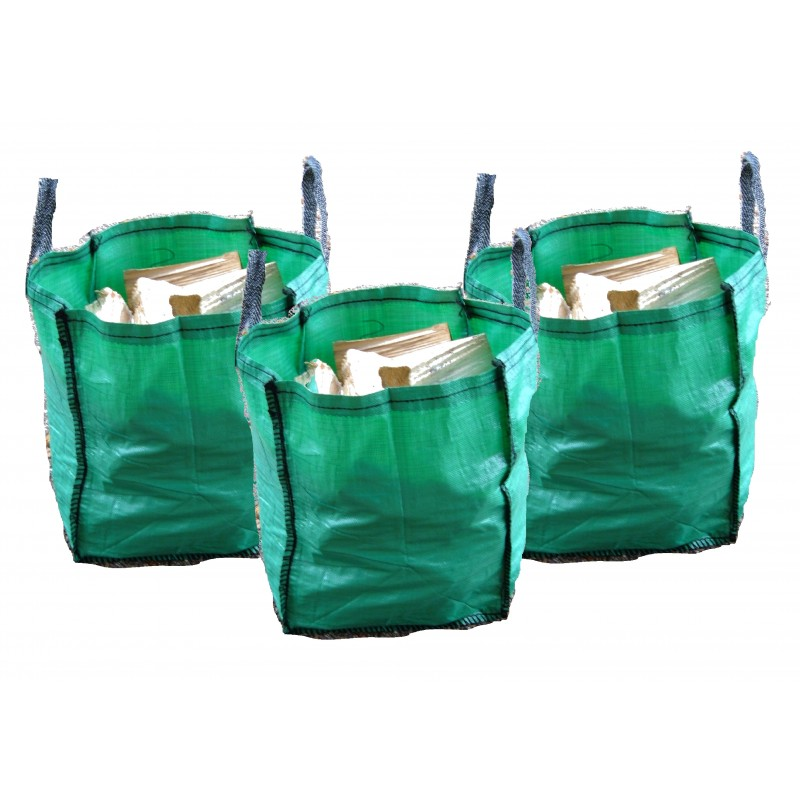 Hardwood Logs (160lt bag) x3