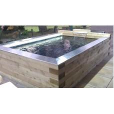 Timber Pond Kit 4.4m x 3.2m x 1.1m inc Nexus 220