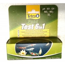 Tetra Pond Test Kit 6in1